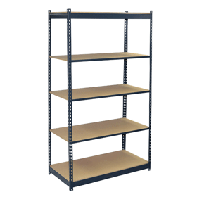 5 Shelf w/Particle Board Decking
