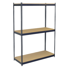 3 Shelf w/Particle Board Decking