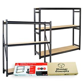 Retail Packaged Bulk Shelving