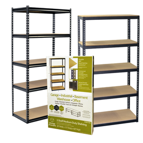 Retail Packaged Boltless Shelving